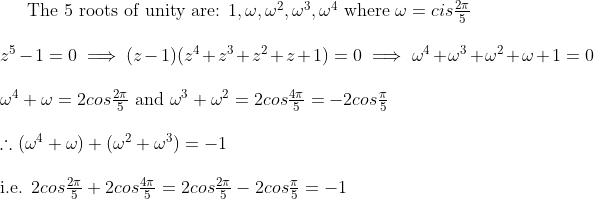Complex Numbers Question Bored Of Studies