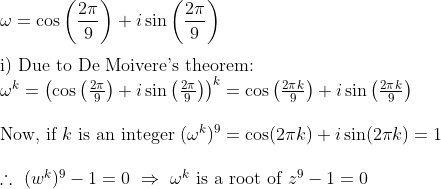 Complex Number Question Bored Of Studies