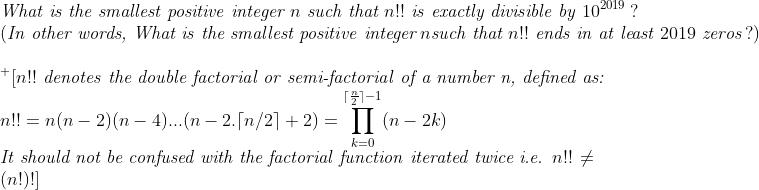 Smallest Positive Integer !