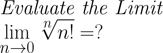 Evaluation of Limit
